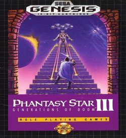 Phantasy Star III - Generations Of Doom ROM