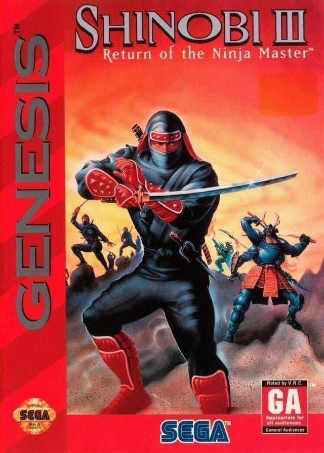 Shinobi 3 - Return Of The Ninja Master
