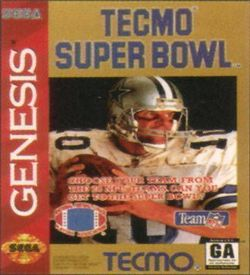 Tecmo Super Bowl (Oct 1993) ROM