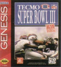 Tecmo Super Bowl 3 Final Edition ROM