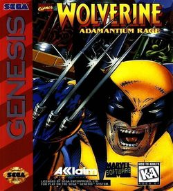 Wolverine Adamantium Rage (JUE) ROM
