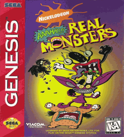 AAAHH!!! Real Monsters (4) ROM