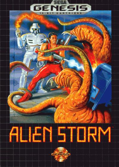 Alien Storm (JUE)