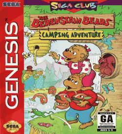 Berenstain Bears', The Camping Adventure ROM
