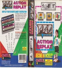 Pro Action Replay (JUE) [c] ROM