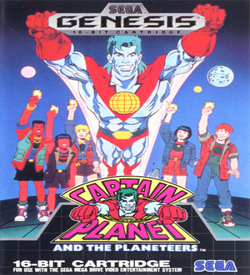 Captain Planet And The Planeteers (Dec 1992) ROM