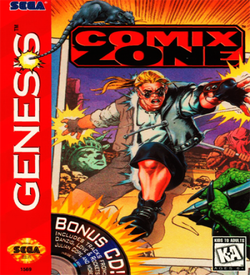 Comix Zone (1) ROM