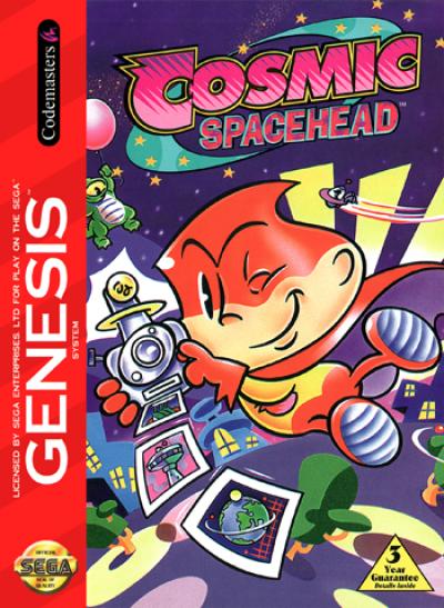 Cosmic Spacehead