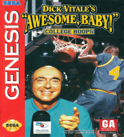 Dick Vitale's Awesome Baby! College Hoops (UJE) ROM