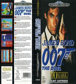 James Bond - The Duel (UEJ) (Tengen) ROM