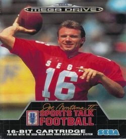 Joe Montana Sports Talk Football ROM