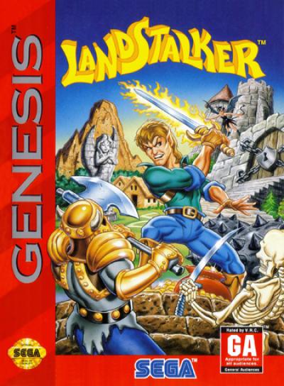 Landstalker - The Treasures Of King Nole (Eng)
