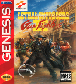 Lethal Enforcers II - Gun Fighters ROM