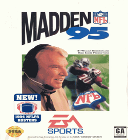 Madden NFL 95 (JUE) ROM