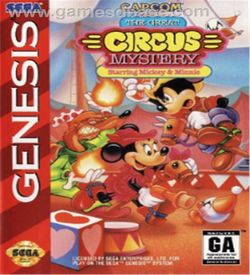 Mickey Mouse - Great Circus Mystery ROM