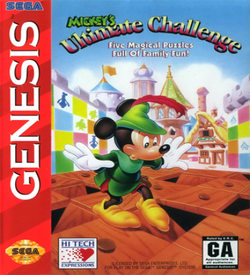 Mickey's Ultimate Challenge ROM