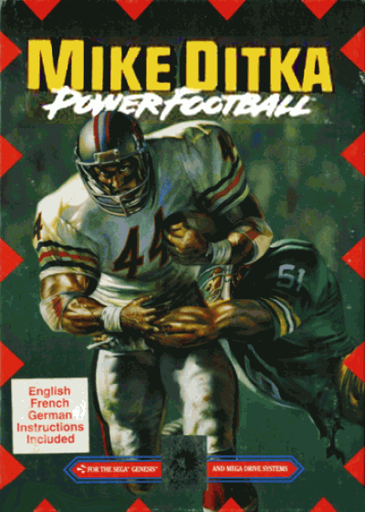 Mike Ditka Power Football