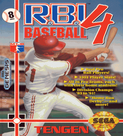 RBI Baseball 4 (UJE) (Aug 1991) [b1] ROM