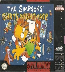 Simpsons, The - Bart's Nightmare ROM