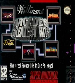 Arcade's Greatest Hits ROM