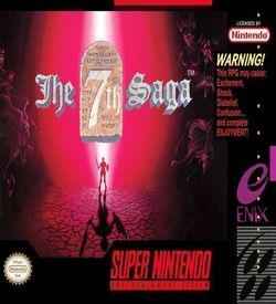 7th Saga, The ROM