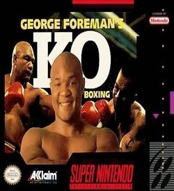 George Foreman K.O. Boxing ROM