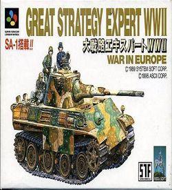 Daisenryaku Expart WW2 ROM