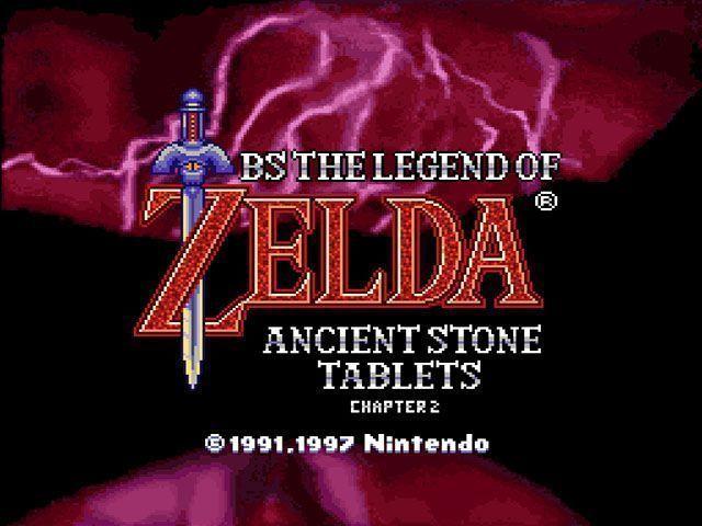 BS Legend Of Zelda 1 - Kodai No Sekiban