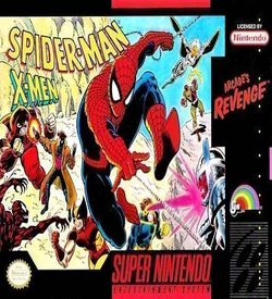 Spider-Man And The X-Men In Arcade's Revenge ROM