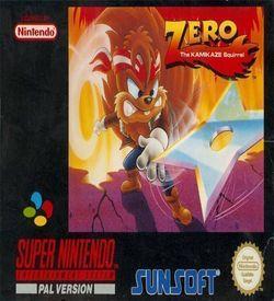Zero The Kamikaze Squirrel ROM