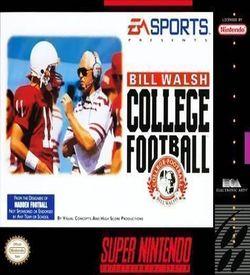 Bill Walsh College Football ROM