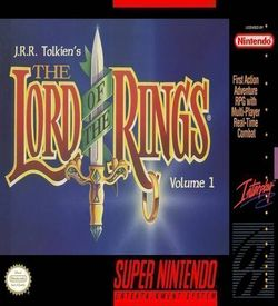JRR Tolkien's The Lord Of The Rings - Volume 1 ROM