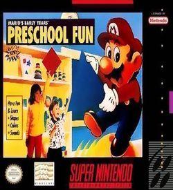 Mario's Early Years - Preschool Fun ROM
