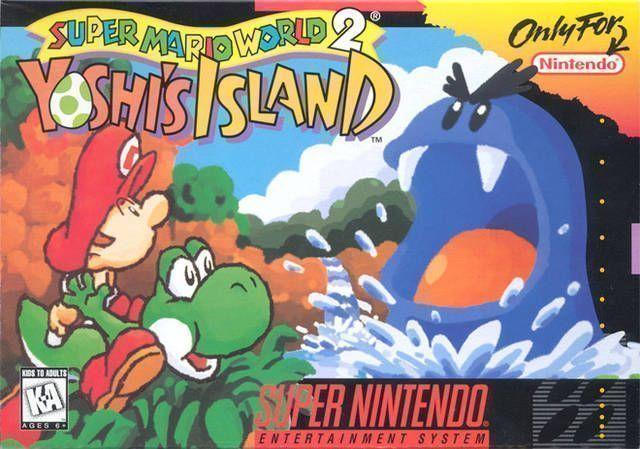 Super Mario World 2 - Yoshi's Island  (V1.1)