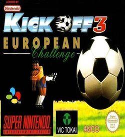 Kick Off 3 - European Challenge ROM