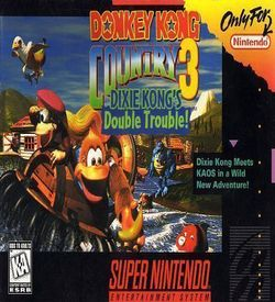 Donkey Kong Country 3-Dixie K Double Trouble ROM