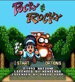 Pocky & Rocky - Sample Cart (NG-Dump Known) ROM