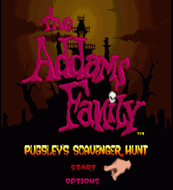 Addams Family, The - Pugsley's Scavenger Hunt (Beta) ROM