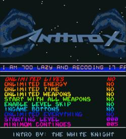 Anthrox 1 (PD) ROM
