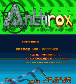 Anthrox - Mode 7 Intro (PD) ROM