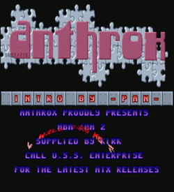 Anthrox - Slither Scroller Intro (PD) ROM