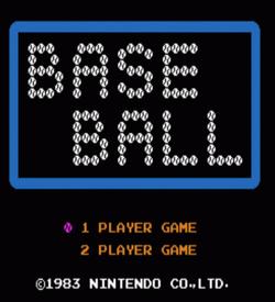 AS - Baseball (NES Hack) ROM