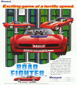 AS - Road Fighter (NES Hack) ROM