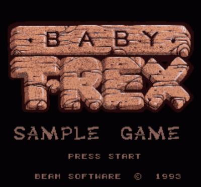 Baby T-Rex (Beta)