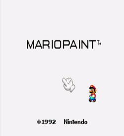BS Mario Paint - 6-4 ROM