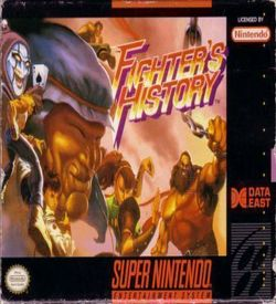 Fighter's History ROM