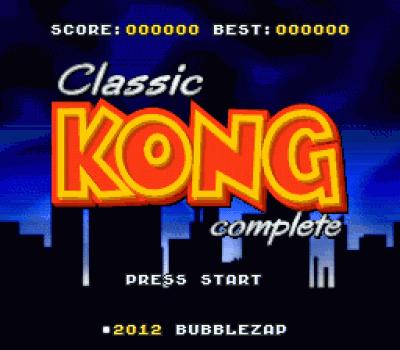 Classic Kong
