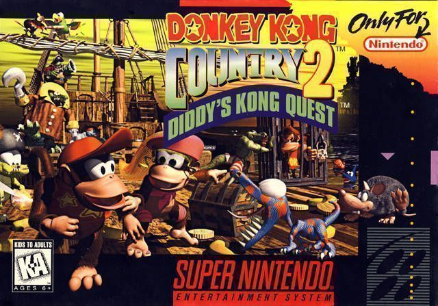 Donky Kong Country - Diddys Kong Quest (V1.1)