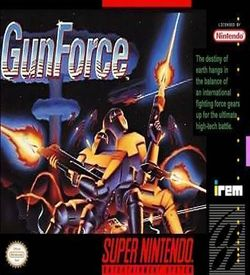 Gunforce - Battle Fire Engulfed Terror Island ROM