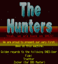 Hunters Demo, The (PD) ROM